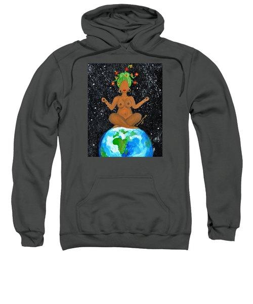 My Own World Sweatshirt by Diamin Nicole