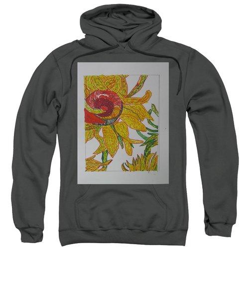 My Version Of A Van Gogh Sunflower Sweatshirt