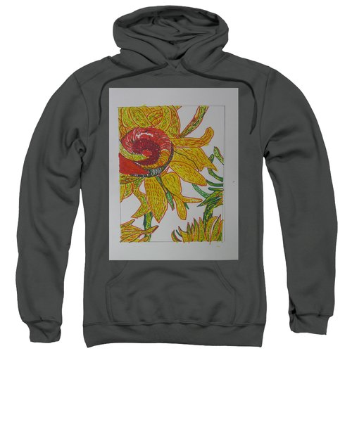 My Version Of A Van Gogh Sunflower Sweatshirt