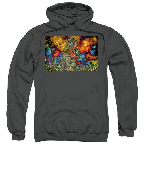 Myrtle Beach Skywheel Abstract Sweatshirt