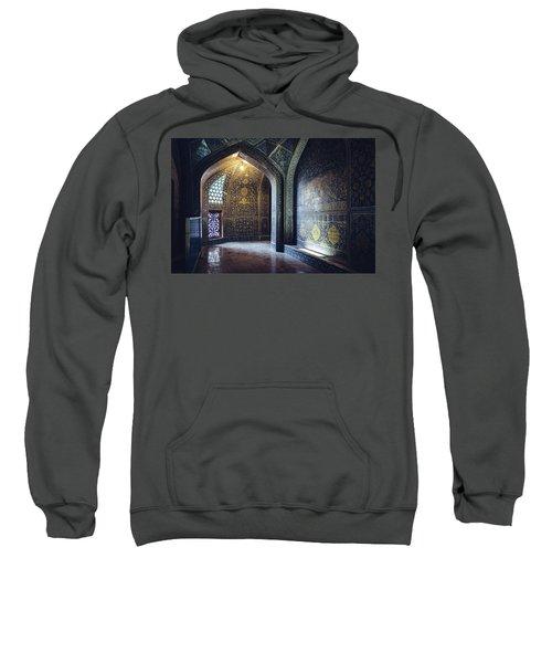Mysterious Corridor In Persian Mosque Sweatshirt