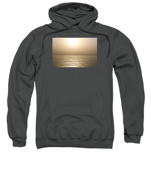 Mystery Sandstorm Sunset- The Red Sea Sweatshirt