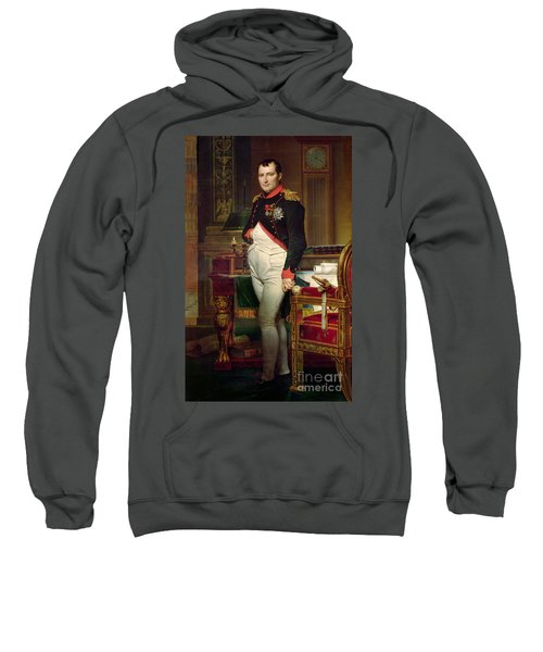 Napoleon Bonaparte In His Study At The Tuileries, 1812 Sweatshirt
