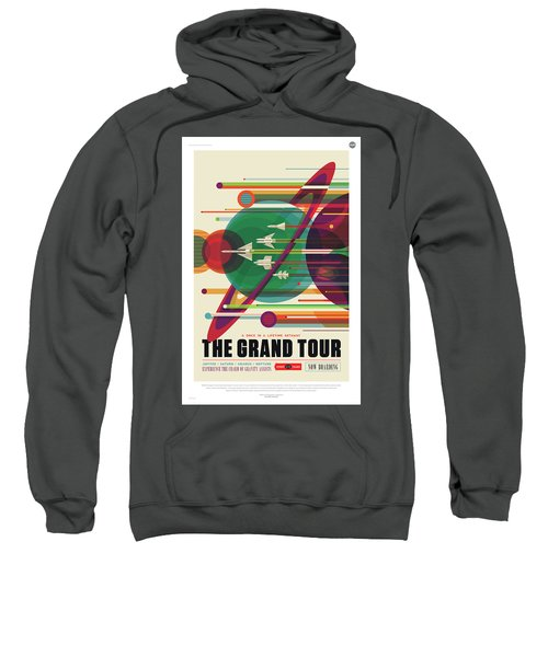 Nasa The Grand Tour Poster Art Visions Of The Future Sweatshirt