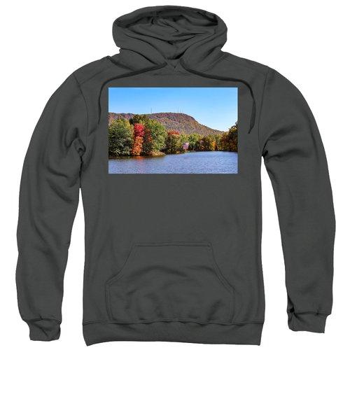 Nashawannuck Pond Fall Colors Sweatshirt