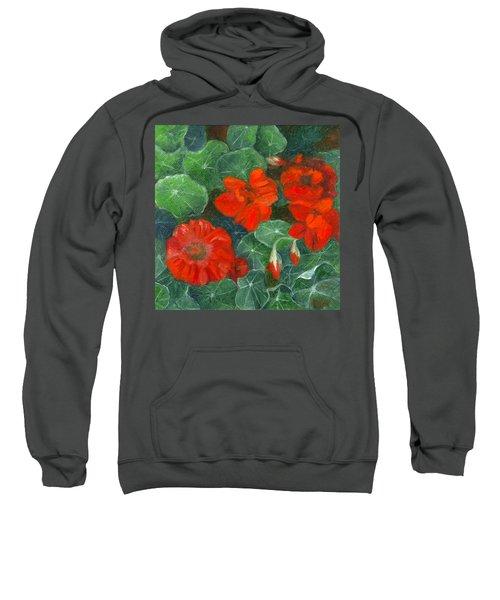 Nasturtiums Sweatshirt