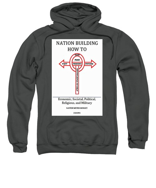 Nation Building How To Book Sweatshirt