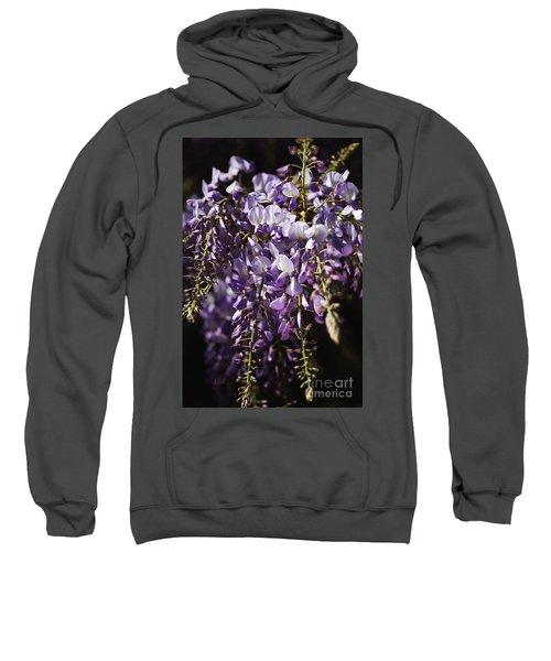 Natural Wisteria Bouquet Sweatshirt