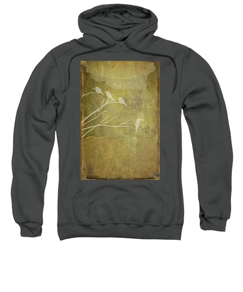 Nature Study In Gold  Sweatshirt