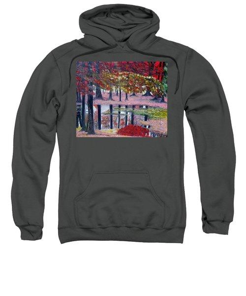 Natures Painting Sweatshirt