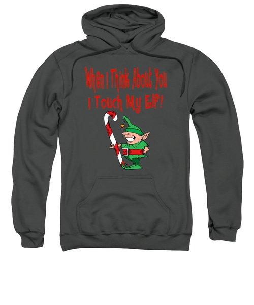 Naughty Christmas Elf Sweatshirt