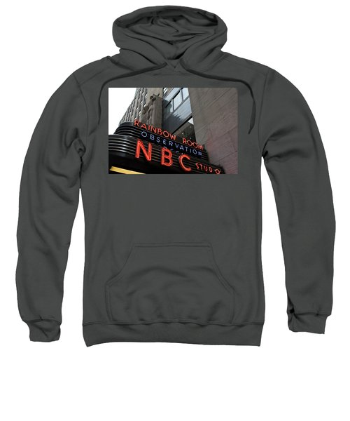 Nbc Studio Rainbow Room Sign Sweatshirt