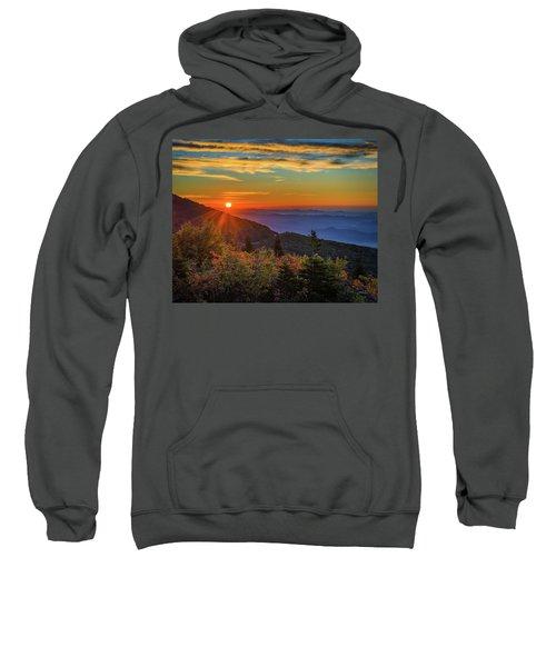 Nc Mountain Sunrise Blue Ridge Mountains Sweatshirt