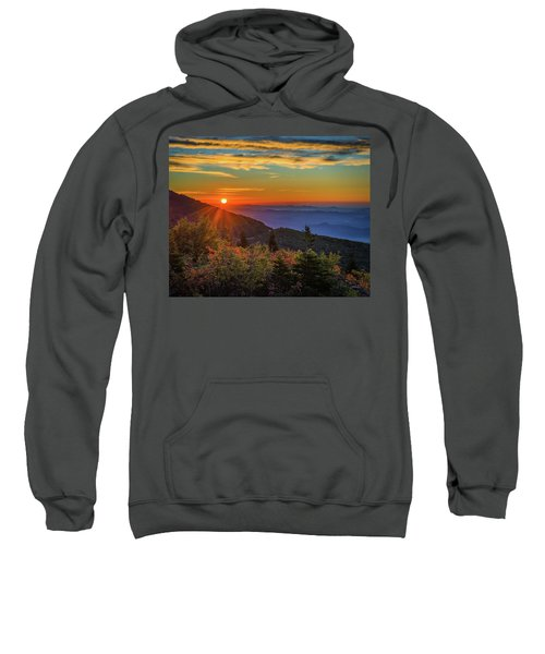 Nc Mountain Sunrise Blue Ridge Mountains Sweatshirt