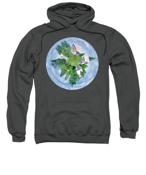 Nebraska Farm - Transparent Sweatshirt