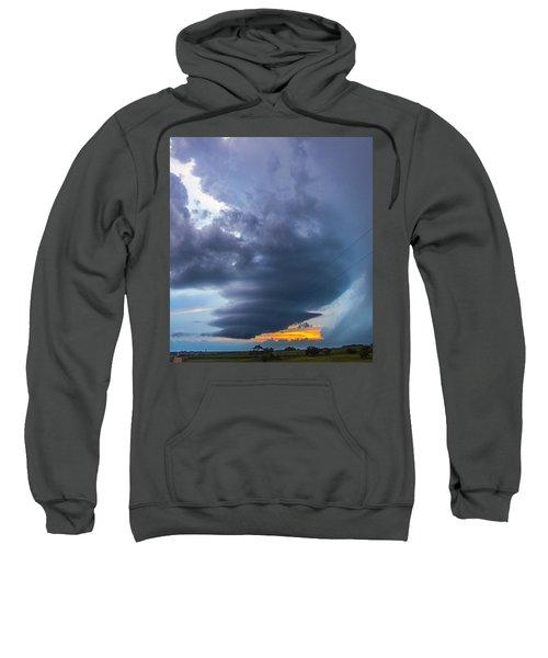 Nebraska Supercell 025 Sweatshirt