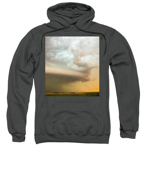 Nebraska Thunderstorm Eye Candy 005 Sweatshirt