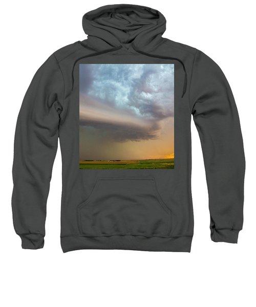 Nebraska Thunderstorm Eye Candy 006 Sweatshirt
