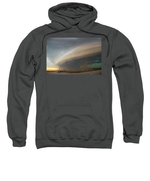 Nebraska Thunderstorm Eye Candy 026 Sweatshirt