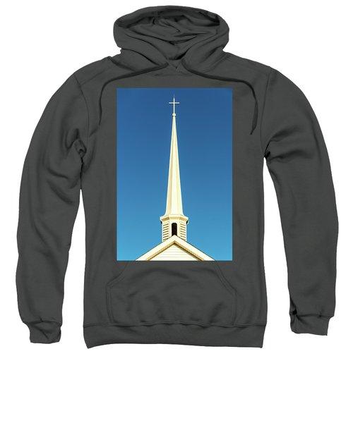 Needle-shaped Steeple Sweatshirt