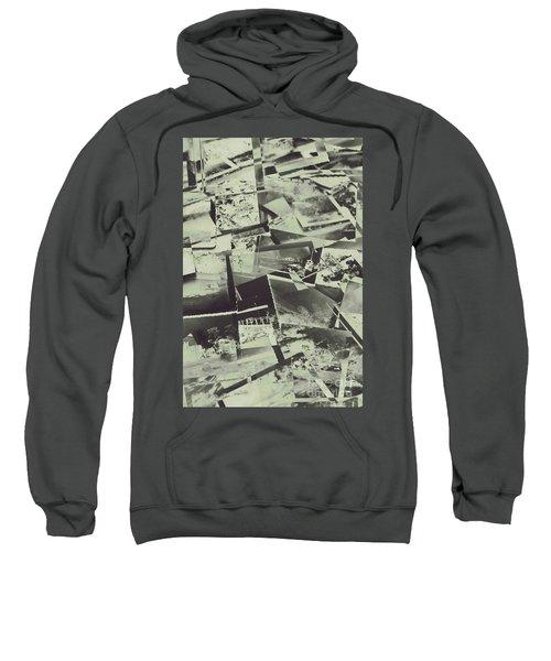 Negative Film Photo Background Sweatshirt