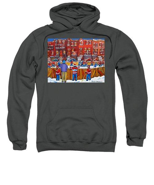 Neighborhood  Hockey Rink Sweatshirt