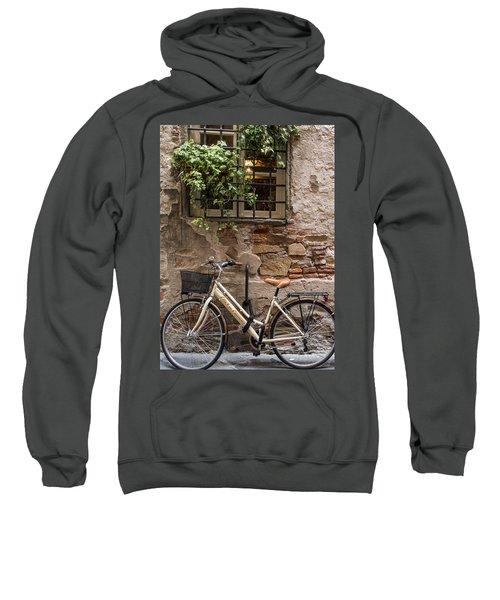 New Bike In Old Lucca Sweatshirt