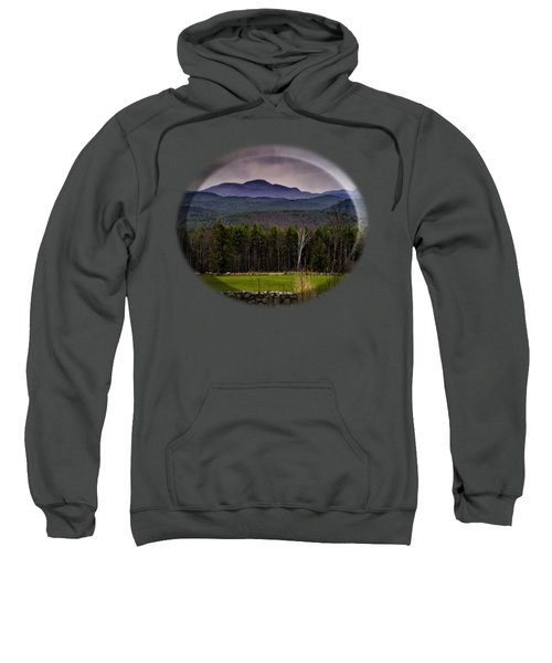 New England Spring In Oil Sweatshirt