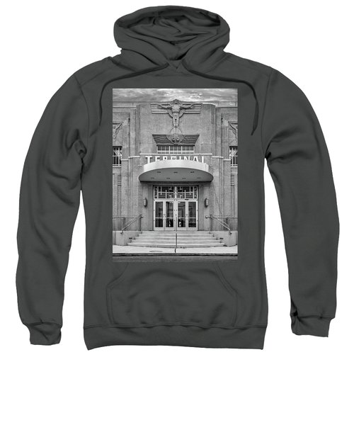 New Orleans Lakefront Airport Bw Sweatshirt