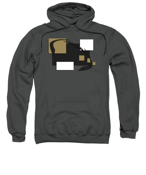 New Orleans Saints Abstract Shirt Sweatshirt by Joe Hamilton