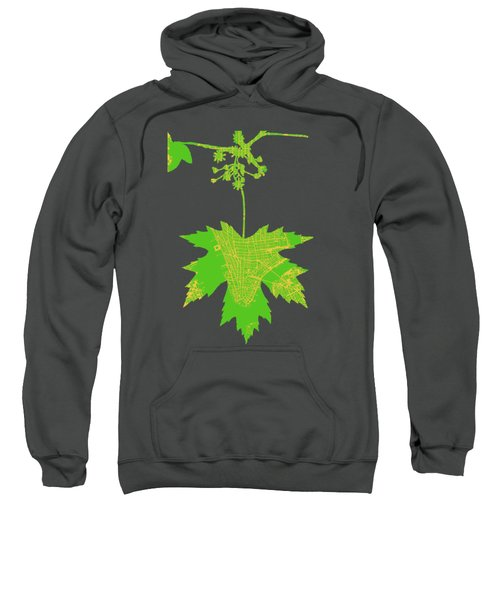 New Yor City Vintage Map Sweatshirt