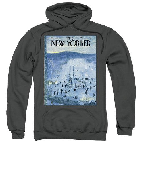 New Yorker February 18 1956 Sweatshirt