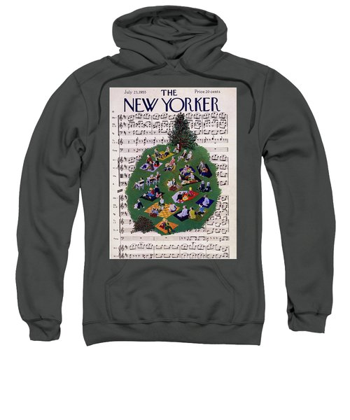 New Yorker July 23 1955 Sweatshirt
