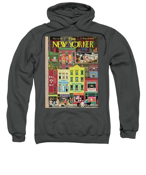 New Yorker March 18 1944 Sweatshirt