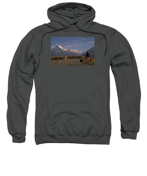 New Zealand Mt Cook Sweatshirt by Travel Pics