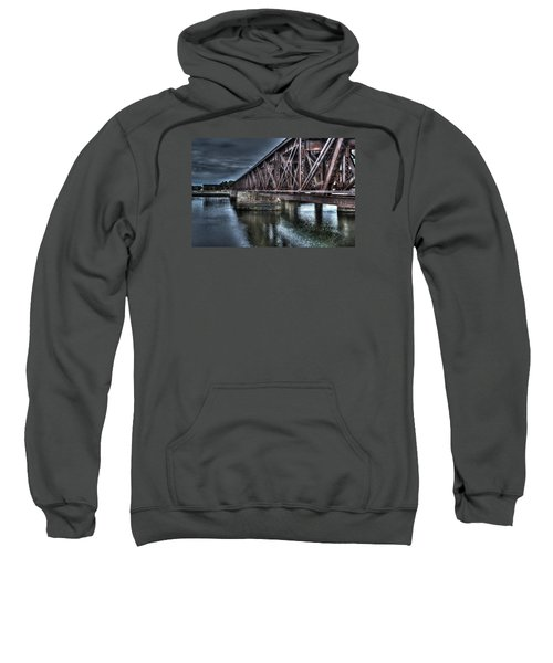 Newburyport Train Trestle Creative Sweatshirt