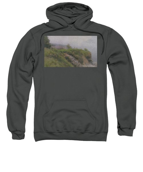 Newport Cliff Walk In The Fog Sweatshirt