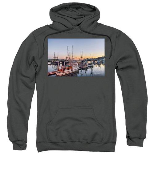 Newport Harbor At Dusk Sweatshirt