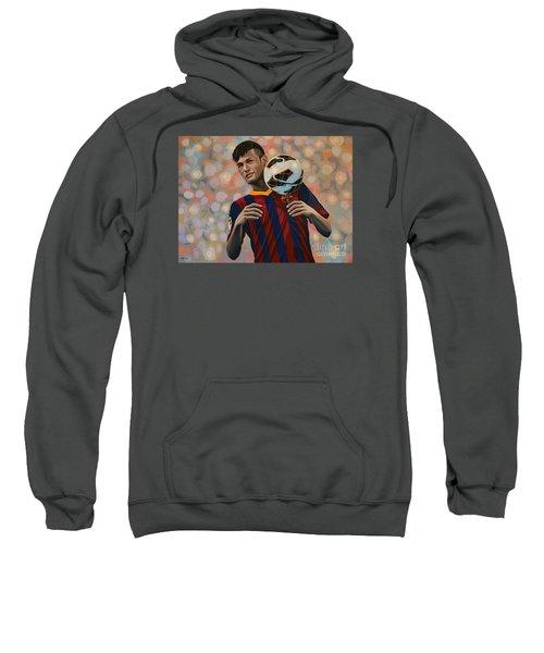Neymar Sweatshirt by Paul Meijering