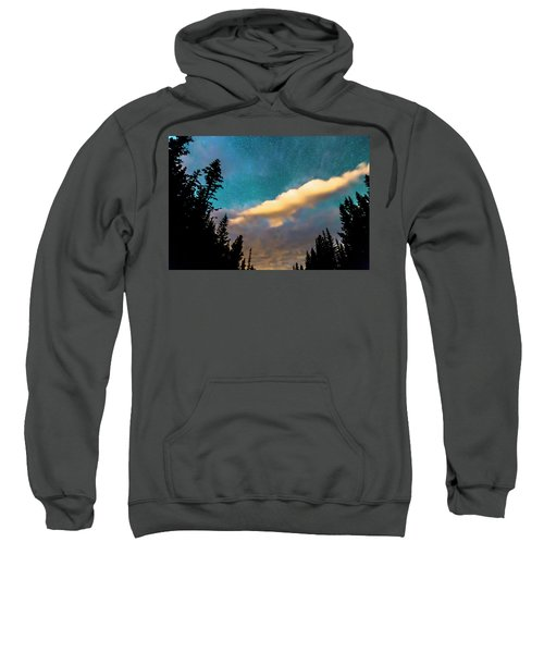 Sweatshirt featuring the photograph Night Moves by James BO Insogna