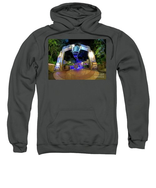 Night Ride On The Rock And Roll Coaster Sweatshirt