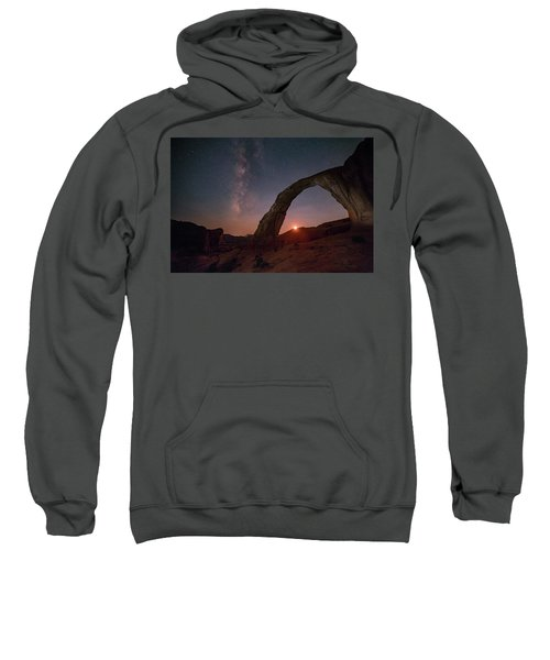 Night Sky At Corona Ach Sweatshirt