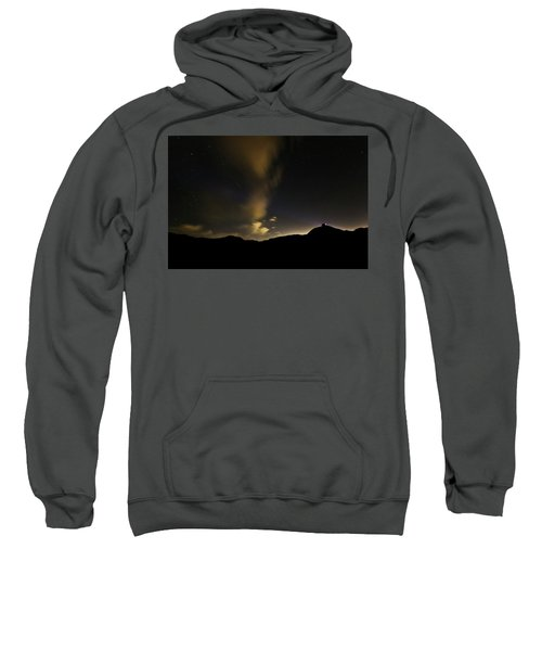 Night Time At Palo Duro Canyon State Park - Texas Sweatshirt