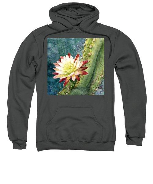 Nightblooming Cereus Cactus Sweatshirt