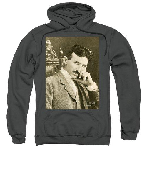 Nikola Tesla, Serbian-american Inventor Sweatshirt