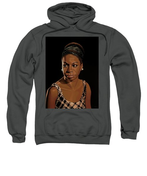 Nina Simone Painting 2 Sweatshirt
