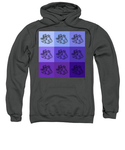 Nine Shades Of Blueberries Sweatshirt