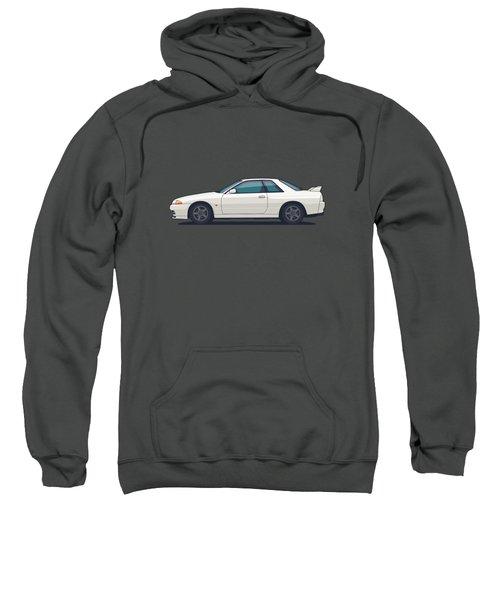 Nissan Skyline R32 Gt-r - Plain White Sweatshirt
