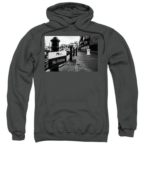 No Fishing Sweatshirt