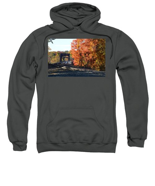 No Train Coming Sweatshirt